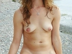 undressed young bitches shows vagina on nude beach in turkey